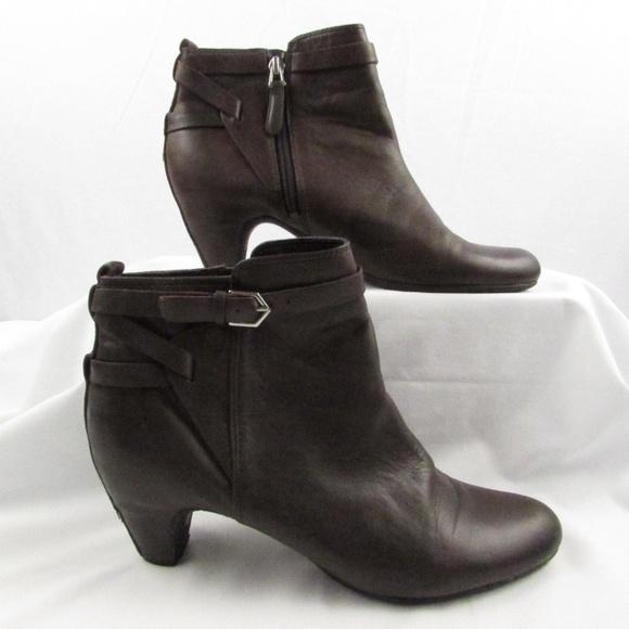 e173ae379 Sam Edelman Maddox Ankle Booties Wrapped Heel 8.5M.  M 5c58b027aa57194250bd6328